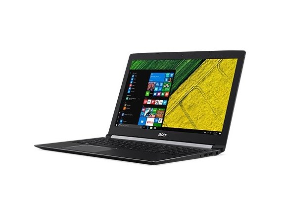 Acer Laptop Aspire 5 A515-51G-82TP i7-8550U/15.6 FHD AntiGlare/12GB/1TB+SSD 256GB/BT/BLKB/GeForce MX150 2GB/Win 10