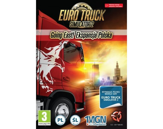 Cenega Gra PC Euro Truck 2 Going East! Ekspansja PL