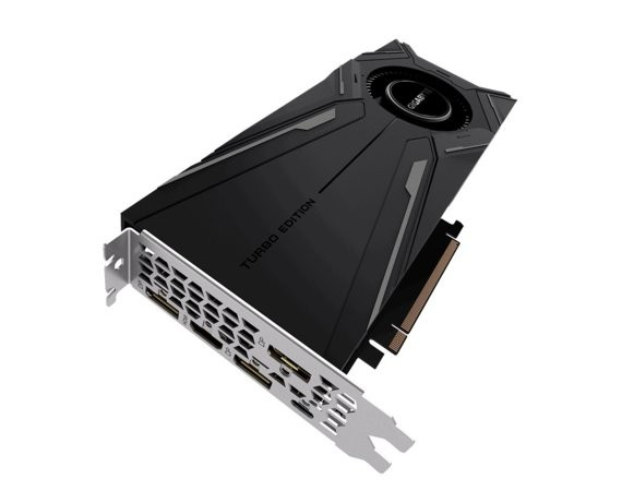 Gigabyte Karta graficzna GeForce RTX 2080 Ti TURBO OC 11GB GDDR6 352bit 3DP/HDMI/USB-c