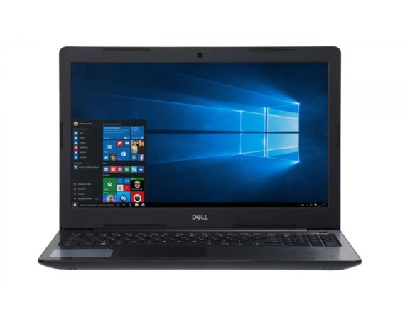Dell Notebook Inspiron 5570 Win10Pro i7-8550U/128/8/AMD/Czarny