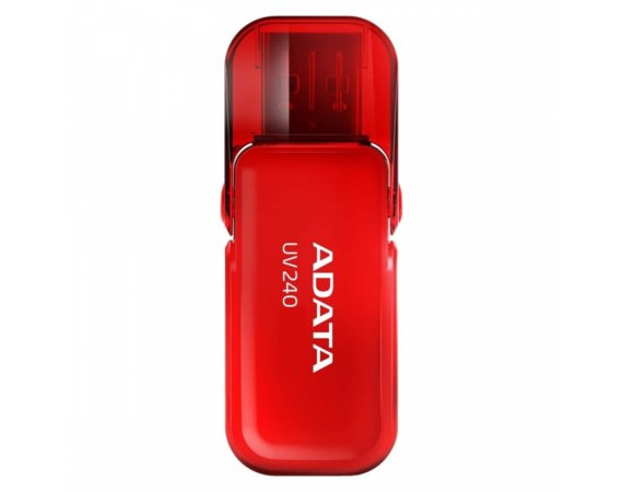 Adata Pendrive UV240 16GB USB2.0 Red