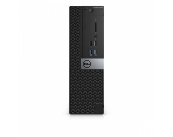 Dell Optiplex 3040SFF Win7/10Pro (64-bit win10, nosnik) i3-6100/128GB/4GB/Integrated/MS116/KB216/3Y NBD