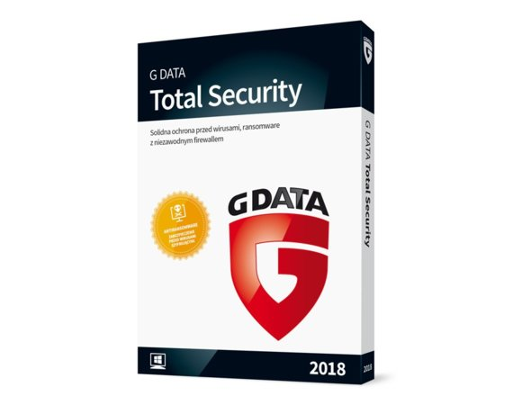 G DATA Total Security BOX 1PC 1ROK