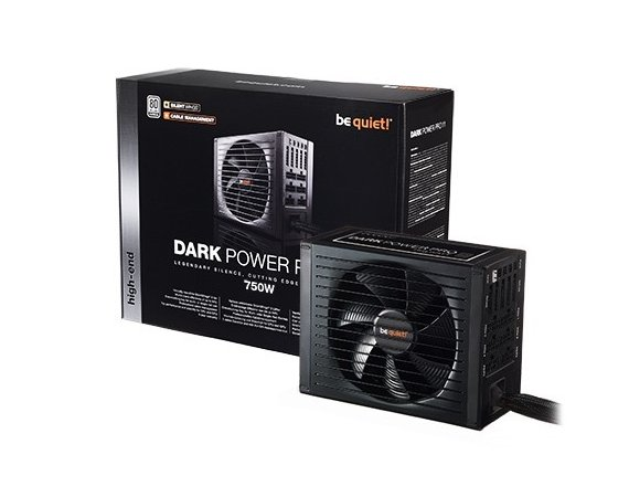 Be quiet! Zasilacz Dark Power Pro 11 750W 80+ PLATINUM S.MODU BN252