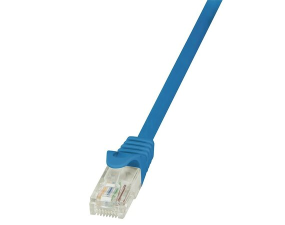 LogiLink Patch Cable CAT.5e U/UTP, 1m, niebieski
