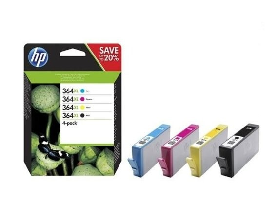 HP Inc. Tusz nr 364XL  CMYK 4-pack N9J74AE