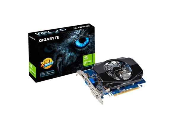 Gigabyte GeForce GT 730 2GB DDR3 64BIT DVI/HDMI/D-SUB