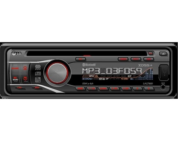 LG Electronics Car Audio-CD Radio Mp3 CD/R/RW USB  LAC5800