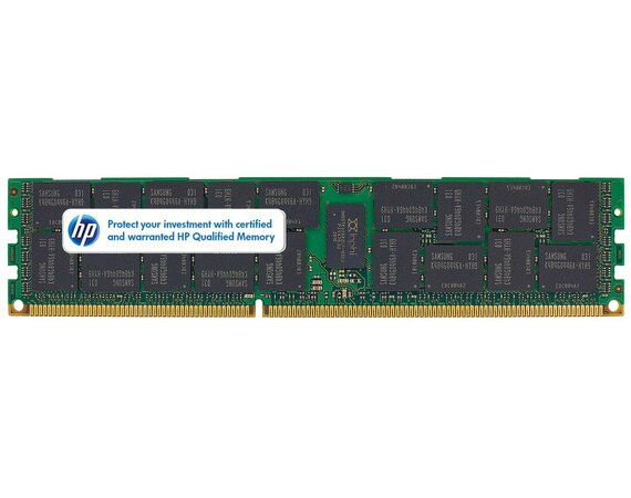 HP Inc. 4GB 1Rx4 PC3-10600R -9 Kit 593339-B21