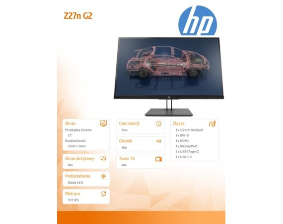 HP Inc. Monitor 27 Z27n G2 Display                  1JS10A4