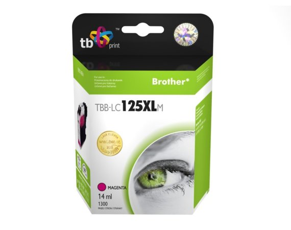 TB Print Tusz do Brother LC125XL TBB-LC125XLM MA