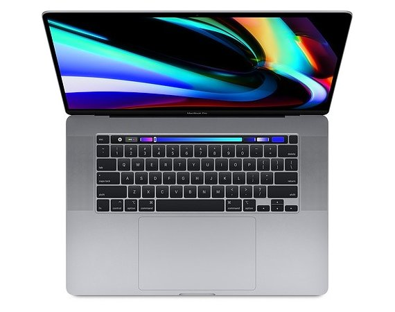Apple MacBook Pro 16 Touch Bar: 2.6GHz i7/32GB/512GB/RP5300M - Space Grey MVVJ2ZE/A/R1