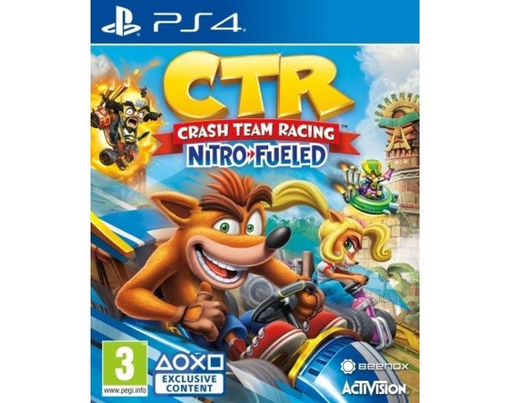 Cenega Gra PS4 Crash Team Racing Nitro-Fueled