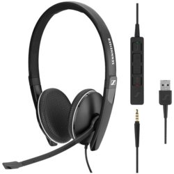 Sennheiser Communications Słuchawki SC 165 USB Skype for Business