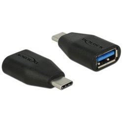 Delock Adapter USB Type-C(M)->USB-A(F) 3.1 Gen2