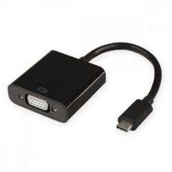 4world Adapter USB typ C do VGA [F]