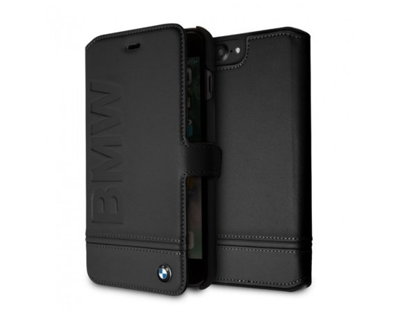 BMW Etui Book BMFLBKI8LLLSB iPhone 7 Plus/8 Plus czarny
