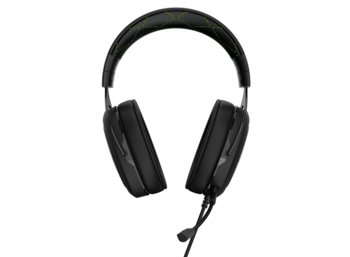 Corsair HS50 CARBON Stereo Gaming Headset                       GREEN