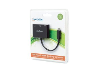 Techly Multiport Adapter USB-C 3.1 na HDMI/USB-A/USB-C