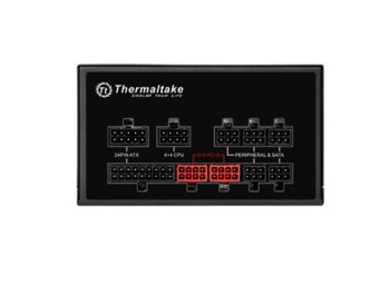 Thermaltake Smart Pro RGB 850W Modular (80+ Bronze, 4xPEG, 140mm, Single Rail)
