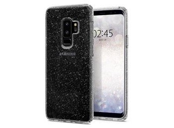 SPIGEN SGP  Liquid Crystal Etui Galaxy S9+ Plus Glitter Crystal Quartz