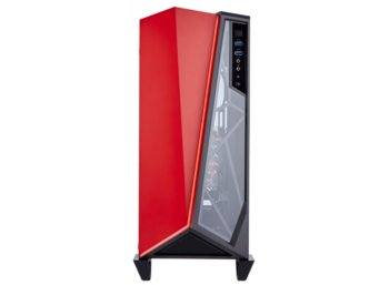 Corsair CARBIDE SERIES SPEC-OMEGA ATX                           Mid-Tower, Black/Red
