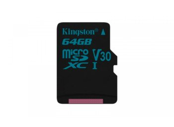 Kingston microSD  64GB Canvas Go 90/45MB/s UHS-I V30