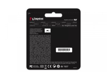 Kingston microSD  64GB Canvas React 100/80MB/s U3 UHS-I V30 A1
