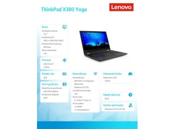 Lenovo ThinkPad X380 Yoga 20LH000SPB