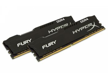 HyperX DDR4 Fury 32GB(2*16GB)/ 3200 CL18 Czarna