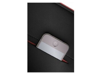 "Samsonite AIRGLOW SLEEVES LAPTOP SLEEVE 13.3"" CZARNY/CZERWONY"
