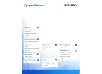 OPTIMUS *Optimus Platinum MH110T i3-7100/4GB/1TB/DVD