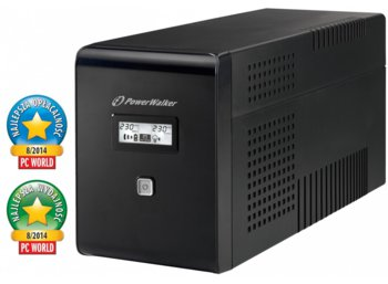 PowerWalker UPS POWER WALKER LINE-INTERACTIVE 1500VA 2X 230V PL + 2XIEC OUT, RJ11/RJ45 IN/OUT, USB, LCD