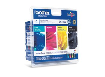 Brother Tusz CMYK do DCP-185C/385C/585CW/6690CW/MFC-5490CN/5890CN/6490CW