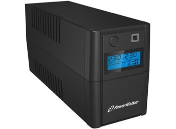 PowerWalker UPS LINE-INTERACTIVE 850VA 2X 230V PL OUT, RJ11 IN/OUT, USB, LCD