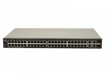Cisco SG300-52 switch L2/3 50x1GBE 2xCOMBO Rack 19''
