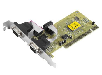 Gembird Karta PCI Kontroler COM RS-232 2x9PIN port