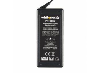 Whitenergy Zasilacz 20V | 3.25A 65W wtyk 7.9x5.5mm + pin IBM  04572