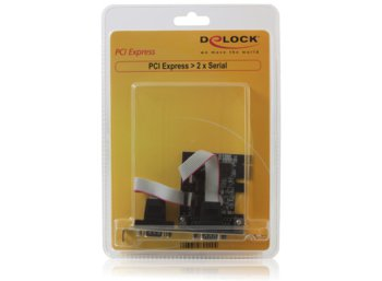 Delock Karta PCI-Express->2xCOM(9PIN)