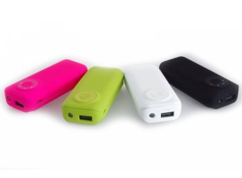 SUNEN PowerBank 5600mAh, 2.1A, 5V, 1x USB, latarka LED