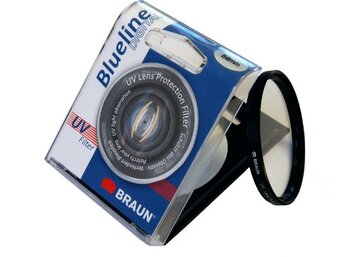 Braun Phototechnik Filtr foto BRAUN Bluelin UV 77mm