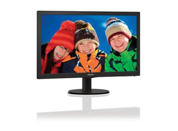 Philips 21.5'' 223V5LHSB LED HDMI Czarny