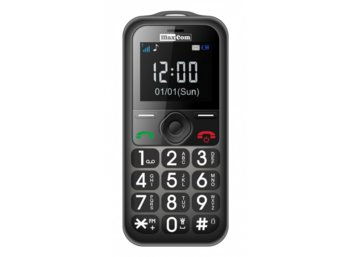 Maxcom MM 560 BB Poliphone/Big button Gray/Black