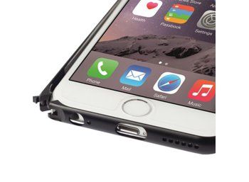 Krusell AluBumper Sala do Apple iPhone 6 - czarny