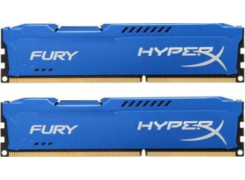 HyperX DDR3 Fury 16GB/ 1600 (2*8GB) CL10