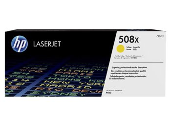 HP Toner 508X High Yield Yellow 9,5k CF362X