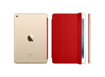 Apple Nakładka iPad mini 4 Smart Cover - czerwona MKLY2ZM/A