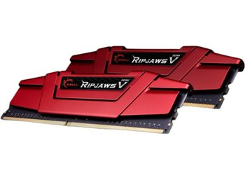 G.SKILL DDR4 16GB (2x8GB) RipjawsV 2400MHz CL15 XMP2 Red