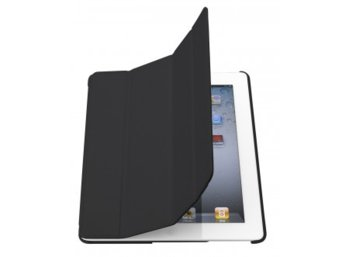Holdit Etui smart cover iPad 2 Air czarne