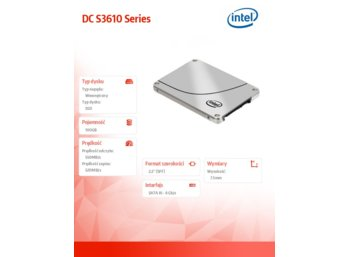 Intel SSD 100GB 2.5in SATA 6Gb/s 20nm MLC